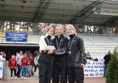 Mistrzostwa Polski Juniorów w Kozienicach Lekkoatletyka 4 - Start Poznań