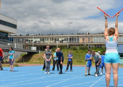 Młodzi lekkoatleci startowali na AWF-ie Lekkoatletyka 12 - Start Poznań