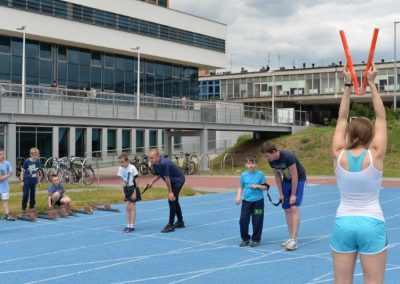 Młodzi lekkoatleci startowali na AWF-ie Lekkoatletyka 20 - Start Poznań