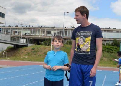 Młodzi lekkoatleci startowali na AWF-ie Lekkoatletyka 21 - Start Poznań