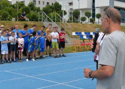Młodzi lekkoatleci startowali na AWF-ie Lekkoatletyka 24 - Start Poznań