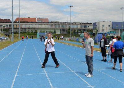 Młodzi lekkoatleci startowali na AWF-ie Lekkoatletyka 25 - Start Poznań