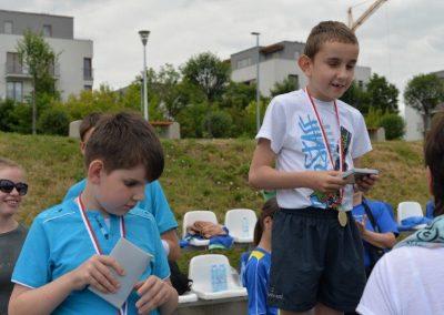 Młodzi lekkoatleci startowali na AWF-ie Lekkoatletyka 4 - Start Poznań