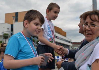 Młodzi lekkoatleci startowali na AWF-ie Lekkoatletyka 5 - Start Poznań