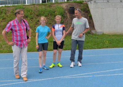 Młodzi lekkoatleci startowali na AWF-ie Lekkoatletyka 1 - Start Poznań