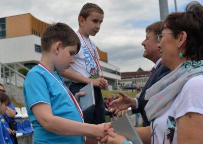 Młodzi lekkoatleci startowali na AWF-ie Lekkoatletyka 6 - Start Poznań