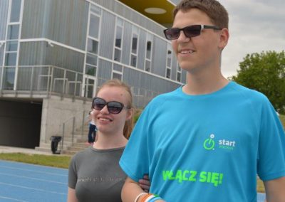 Młodzi lekkoatleci startowali na AWF-ie Lekkoatletyka 8 - Start Poznań