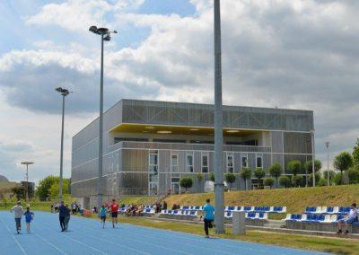 Młodzi lekkoatleci startowali na AWF-ie Lekkoatletyka 9 - Start Poznań