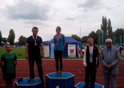 Sukcesy lekkoatletów na Mistrzostwach Polski w Zielonej Górze Lekkoatletyka 3 - Start Poznań