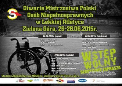 Sukcesy lekkoatletów na Mistrzostwach Polski w Zielonej Górze Lekkoatletyka 5 - Start Poznań