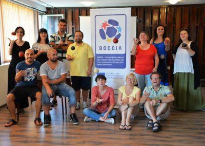 Bułgarskie spotkanie inicjujące projekt BOCCIA programu Erasmus + Sport Boccia 5 - Start Poznań