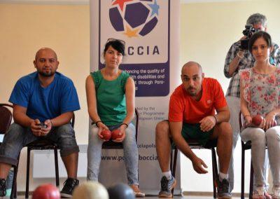 Bułgarskie spotkanie inicjujące projekt BOCCIA programu Erasmus + Sport Boccia 1 - Start Poznań