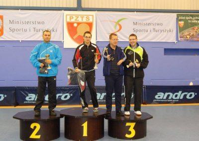 Michał Deigsler zwycięzcą I Grand Prix Polski Tenis stołowy 2 - Start Poznań