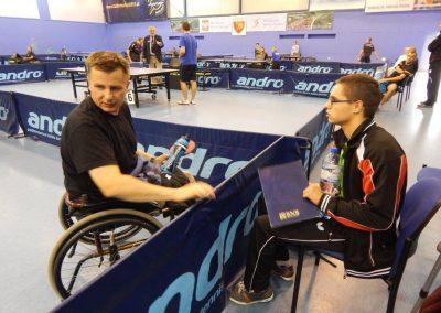 Michał Deigsler zwycięzcą I Grand Prix Polski Tenis stołowy 1 - Start Poznań
