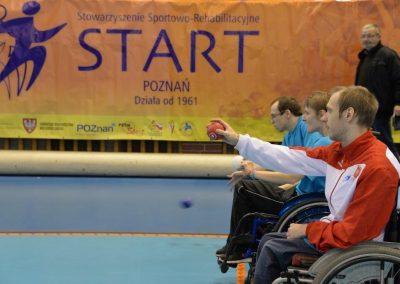 Boccia w Głogowie - Mistrzostw Polski dzień pierwszy Boccia 33 - Start Poznań