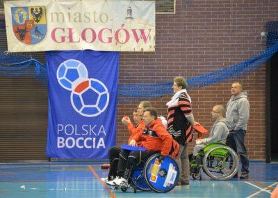 Boccia w Głogowie - Mistrzostw Polski dzień pierwszy Boccia 51 - Start Poznań