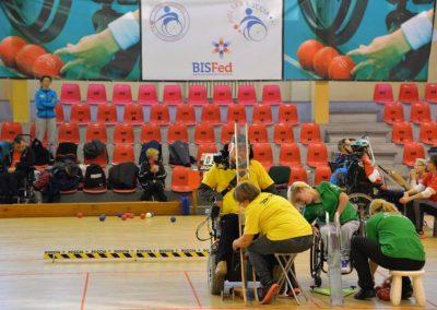6 Międzynarodowe Mistrzostwa Polski w Bocci, 6th International Polish Boccia Championships Boccia 2 - Start Poznań