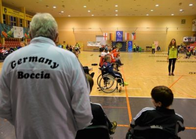 6 Międzynarodowe Mistrzostwa Polski w Bocci, 6th International Polish Boccia Championships Boccia 21 - Start Poznań