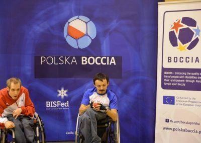 6 Międzynarodowe Mistrzostwa Polski w Bocci, 6th International Polish Boccia Championships Boccia 1 - Start Poznań