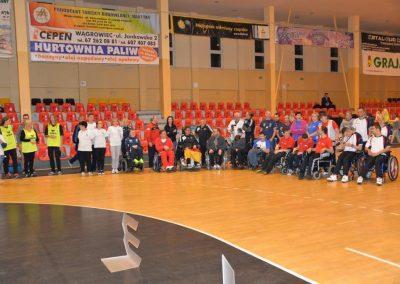 6 Międzynarodowe Mistrzostwa Polski w Bocci, 6th International Polish Boccia Championships Boccia 45 - Start Poznań