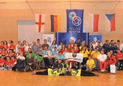 6 Międzynarodowe Mistrzostwa Polski w Bocci, 6th International Polish Boccia Championships Boccia 56 - Start Poznań