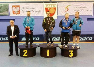 Michał Deigsler Mistrzem Polski w Tenisie stołowym Tenis stołowy 2 - Start Poznań