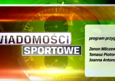 Telewizja Poznań Wiadomości Sportowe 26 .01.2016 o Polskim Związku Bocci Boccia 1 - Start Poznań