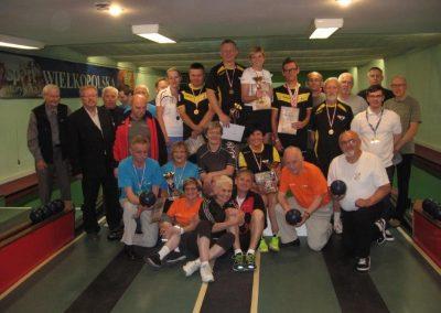 Kręglarze z sukcesami zakończyli rozgrywki Poznańskiej Ligi Okręgowej Kręglarstwo 1 - Start Poznań