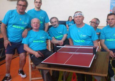 """Turniej tenisa stołowego w poznańskiej """"50-tce"""" Tenis stołowy 2 - Start Poznań"""