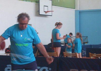"""Turniej tenisa stołowego w poznańskiej """"50-tce"""" Tenis stołowy 4 - Start Poznań"""