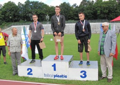 Michał - wielka nadzieja naszej lekkoatletyki Lekkoatletyka 2 - Start Poznań
