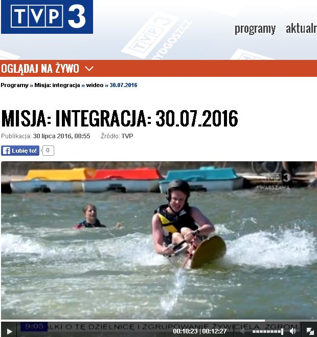 """O """"Aktywnej"""" w programie MISJA INTEGRACJA Aktywna rehabilitacja 1 - Start Poznań"""