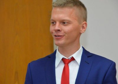 Pan dr Piotr Urbański !!! 13 - Start Poznań