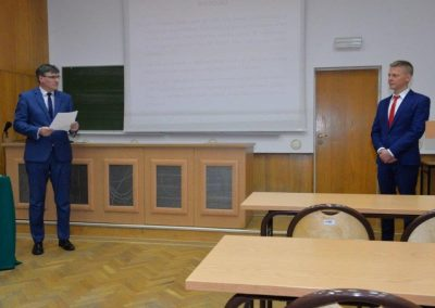 Pan dr Piotr Urbański !!! 18 - Start Poznań