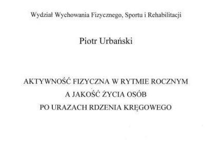 Pan dr Piotr Urbański !!! 20 - Start Poznań
