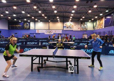 """Zawodnicy """"Startu"""" na Grand Prix Polski w tenisie stołowym w Gdańsku Tenis stołowy 3 - Start Poznań"""