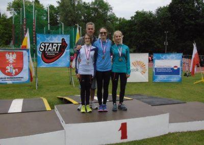 12 medali poznaniaków w Białymstoku Lekkoatletyka 15 - Start Poznań