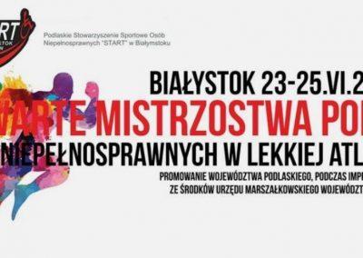 12 medali poznaniaków w Białymstoku Lekkoatletyka 1 - Start Poznań