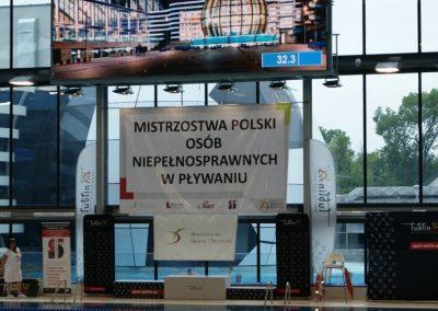 Poznański Start na MP Osób Niepełnosprawnych w Pływaniu 10 - Start Poznań