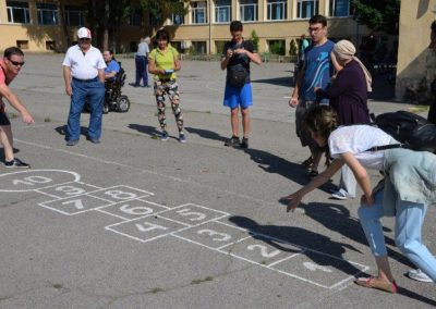 Dzamija, Tas, Кизия – 3 Traditional games from 3 countries START Erasmus + Sport 8 - Start Poznań