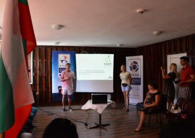 """START"" Erasmus+Sport project kick-off meeting in Bulgaria START Erasmus + Sport 17 - Start Poznań"