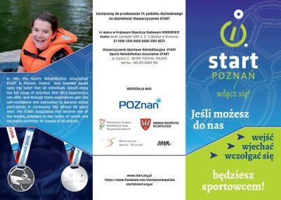 """Nowa ulotka """"Startu"""".... JUŻ JEST !!!! 2 - Start Poznań"""