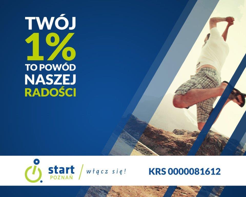 Przekaż nam swój 1% podatku.... dla nas to naprawdę dużo 3 - Start Poznań