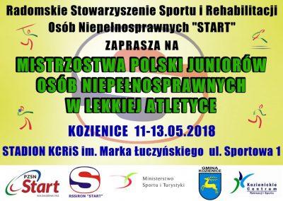 Juniorzy z sukcesami na MP w Kozienicach Lekkoatletyka 3 - Start Poznań