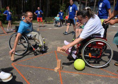 Game from FYR of Macedonia START Erasmus + Sport 5 - Start Poznań