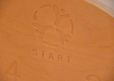 Game from Turkey : BİLYE/MİSKET OYUNU (eng. MARBLE GAME) START Erasmus + Sport 12 - Start Poznań