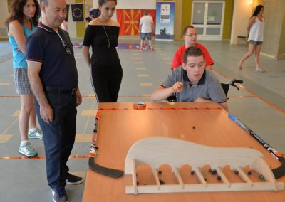 Game from Turkey : BİLYE/MİSKET OYUNU (eng. MARBLE GAME) START Erasmus + Sport 4 - Start Poznań