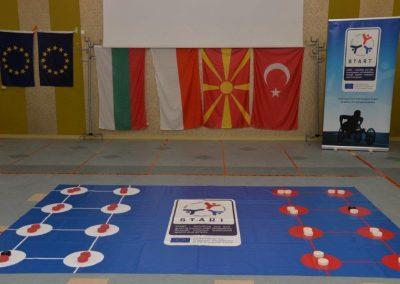 Holes - Yamichki START Erasmus + Sport 1 - Start Poznań