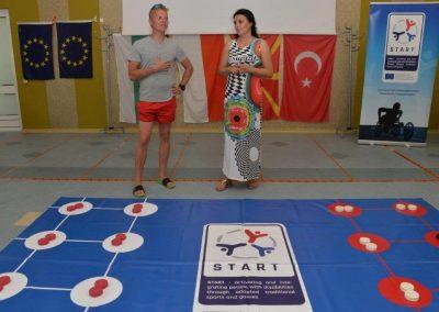 Holes - Yamichki START Erasmus + Sport 7 - Start Poznań