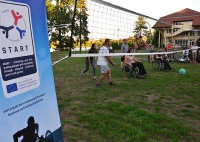 Summary meeting in Poland, Wagrowiec has just started START Erasmus + Sport 11 - Start Poznań
